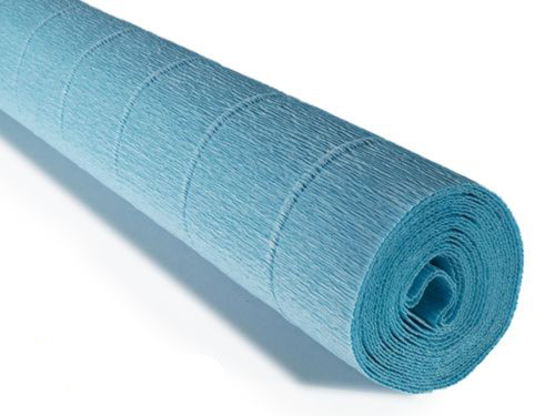 Crepe paper roll 180g (50X250cm) Sky Blue (Shade 556)