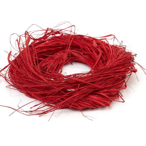 Raffia 150g Red