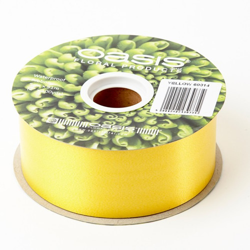 Florist Ribbon Yellow