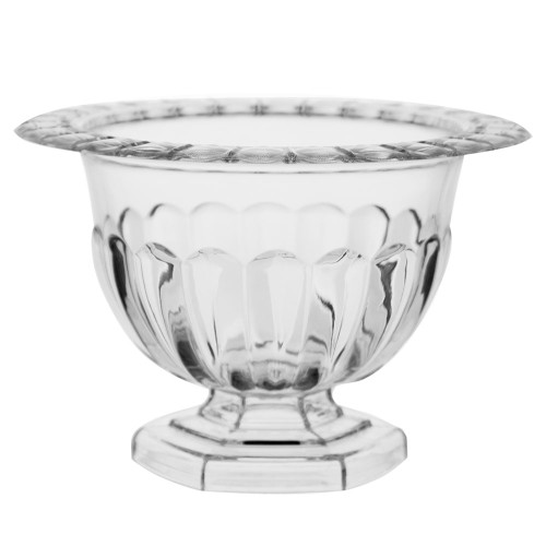 Holly Chapple Abby Compote Vase 10cm Clear