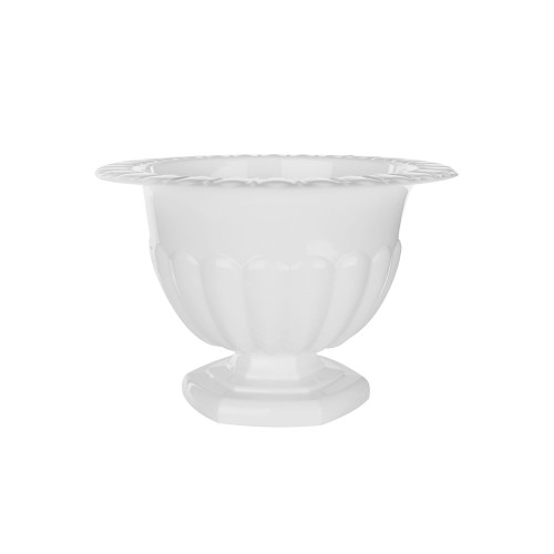 Holly Chapple Abby Compote Vase 10cm White