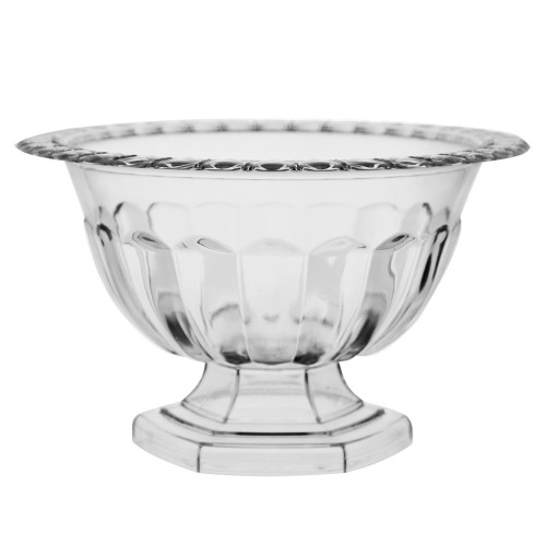 Holly Chapple Abby Compote Vase 12cm Clear