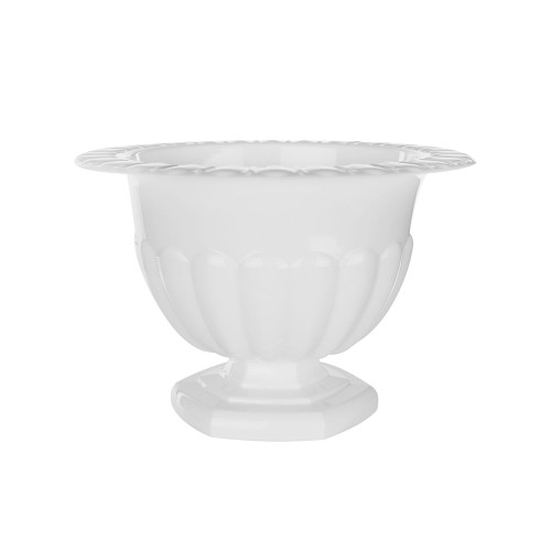 Holly Chapple Abby Compote Vase 12cm White