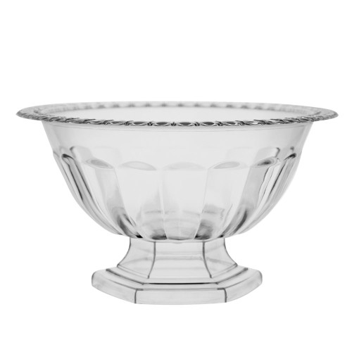 Holly Chapple Abby Compote Vase 14cm Clear