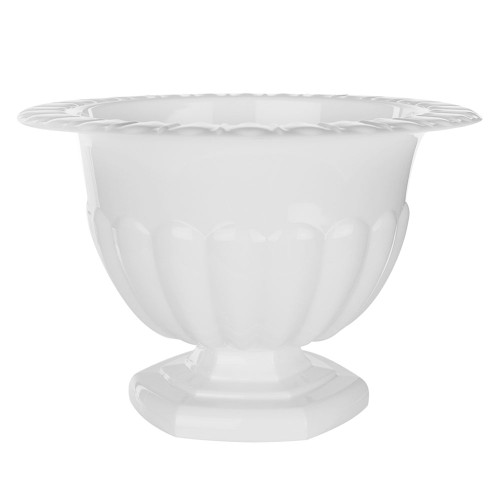 Holly Chapple Abby Compote Vase 14cm White