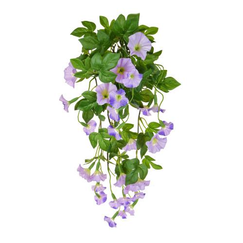 Petunia Bush Artificial Silk Long Trailing 82cm Purple