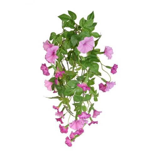 Petunia Bush Artificial Silk Long Trailing 82cm Pink
