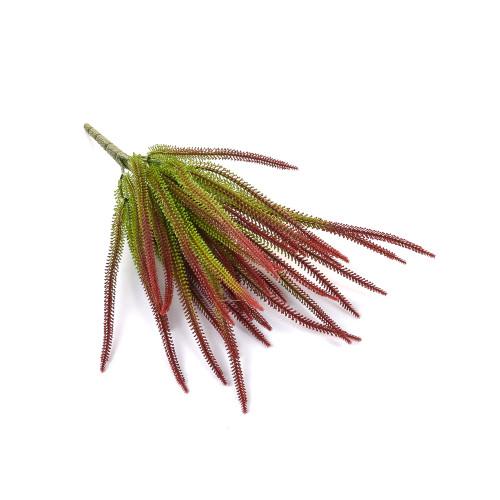 Red Tipped Grass Bush Artificial 40cm