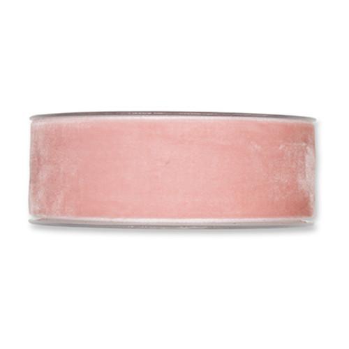 Velvet Fabric Ribbon 38mm Wide x 9.5m Pink