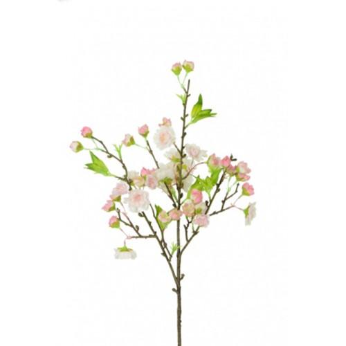 Fuji Cherry Blossom Spray 45cm Light Pink