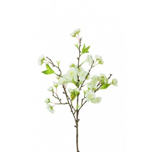 Fuji Cherry Blossom Spray 45cm White