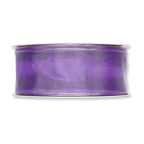 Fabric Ribbon 40mm x 25m Light Violet