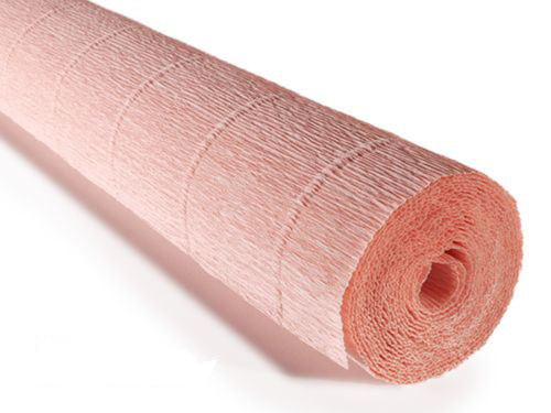 Crepe paper roll 180g (50 x 250cm) Soft Antique Pink (shade 17A2)