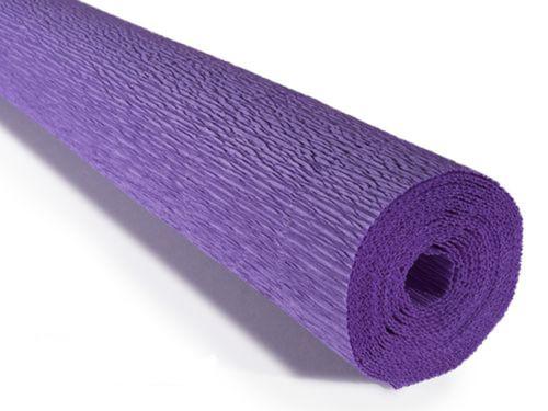 Crepe paper roll 180g (50 x 250cm) Soft Violet (shade 17E2)