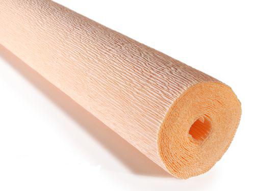 Crepe paper roll 180g (50 x 250cm) Peach (shade 17A5)