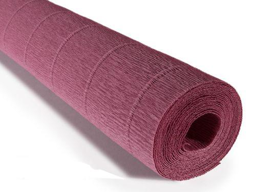 Crepe paper roll 180g (50 x 250cm) Dusky Damson (shade 620)