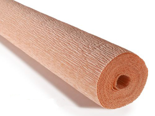 Crepe paper roll 180g (50 x 250cm) Nude (shade 17A4)