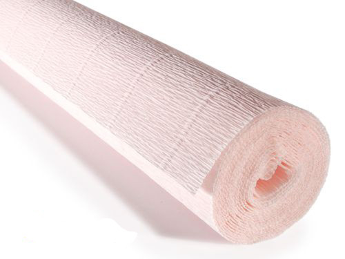 Crepe paper roll 180g (50 x 250cm) Delicate Pink (shade 616)