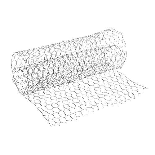 Florist Netting Chicken Wire 45cm x 45m Galvanised