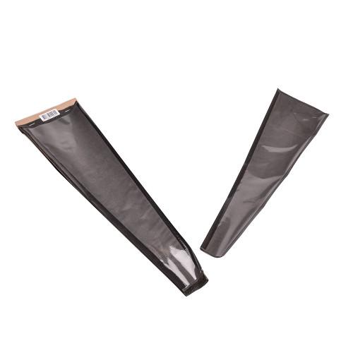 Single Rose Sleeve Black Kraft Paper 55 x 12 x 3cm Pack Of 50