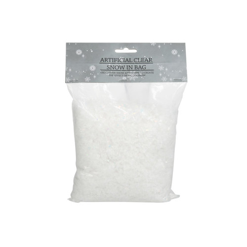 Artificial Clear  White Snow Powder 140g Bag