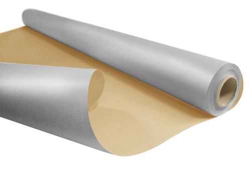 Kraft Paper Roll 50cm x 200m 6kg Silver / Natural Back