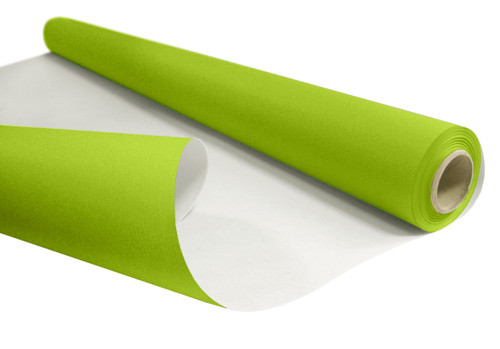 Kraft Paper Roll 50cm x 200m 6kg Lime Green / White Back