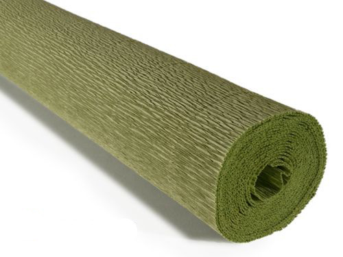 Crepe paper roll Lite 140g (50 x 250cm) Sage Green (shade 962)