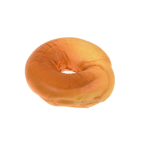 Artificial Bread Bagel 13cm Diameter