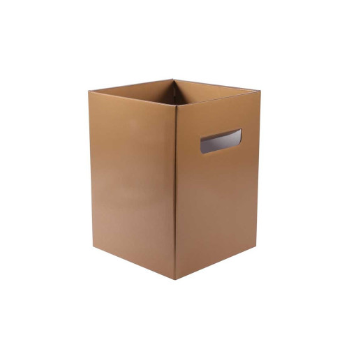 Cardboard Bouquet Box (18 x 18 x 24cm) x 10 Gold