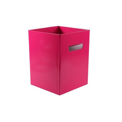 Cardboard Bouquet Box (18 x 18 x 24cm) x 10 Hot Pink
