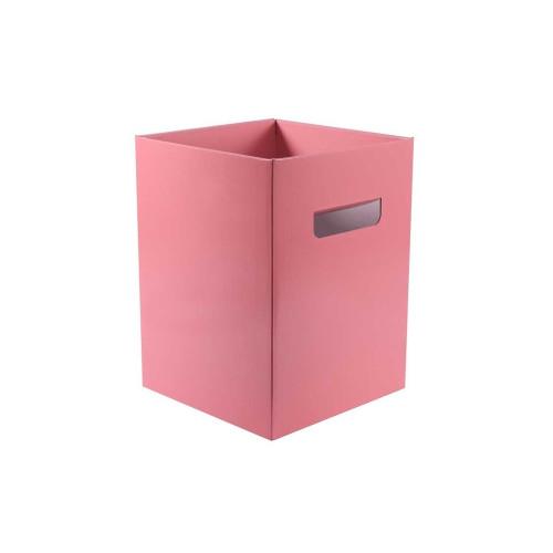 Cardboard Bouquet Box (18 x 18 x 24cm) x 10 Pastel Pink