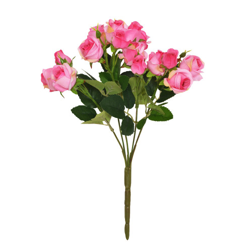 Mini Rosebud Flower Artificial Bunch Pink