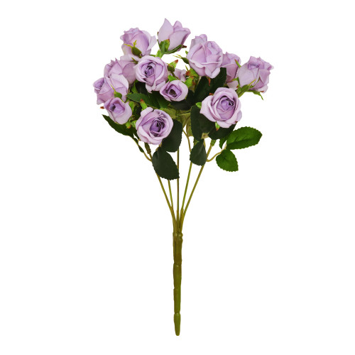 Mini Rosebud Flower Artificial Bunch Lilac
