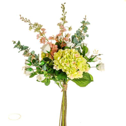 Somerset Mixed Artificial Bouquet Green