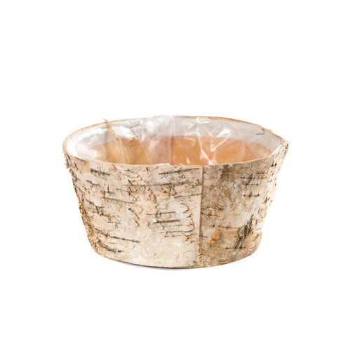 Birch Bark Bowl Planter 20cm