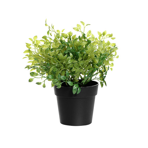 Artificial Oregano Herb Bush in a Pot