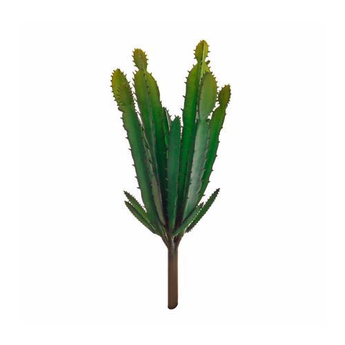 Mini Euphorbia Artificial Green Cactus Pick