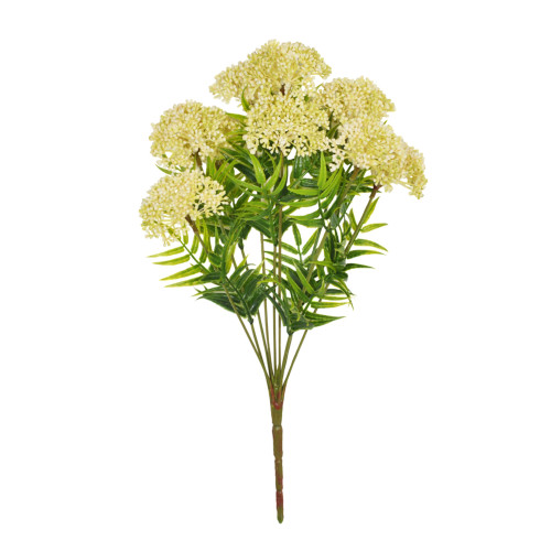 Viburnum Bunch Artificial 9 Heads Cream