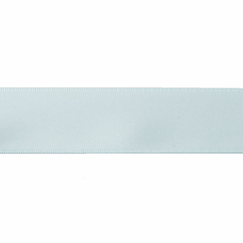 Satin Florist Ribbon 25mm/1 Inch Wide on a 20m/22yd Roll Light  Blue