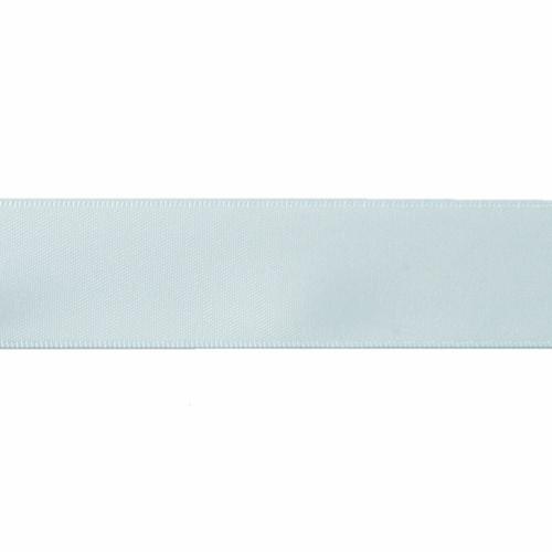 Satin Florist Ribbon 25mm/1 Inch Wide on a 20m/22yd Roll Light  Blue