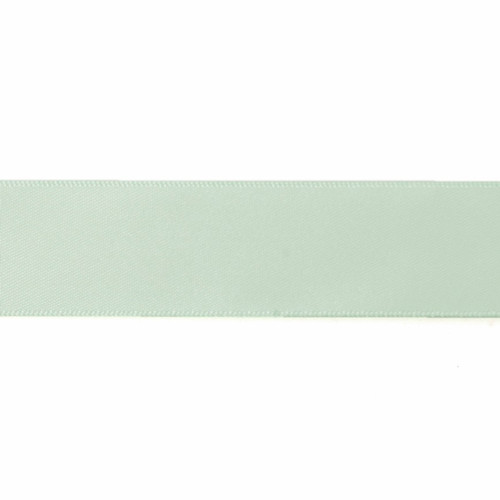Satin Florist Ribbon 25mm/1 Inch Wide on a 20m/22yd Roll Mint