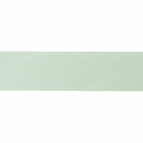Satin Florist Ribbon 25mm/1 Inch Wide on a 20m/22yd Roll Mint
