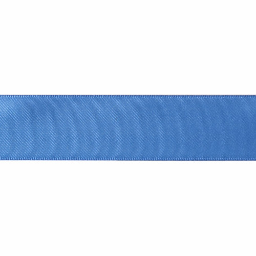 Satin Florist Ribbon 25mm/1 Inch Wide on a 20m/22yd Roll Royal Blue