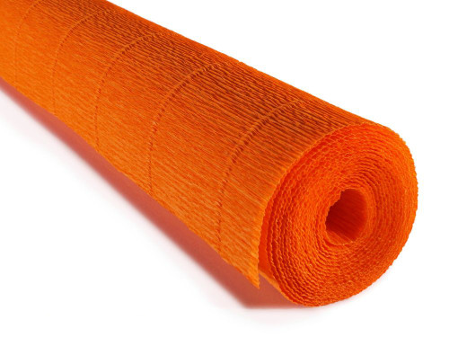 Crepe paper roll 180g (50 x 250cm) Iceland Poppies Orange (shade 20E2)