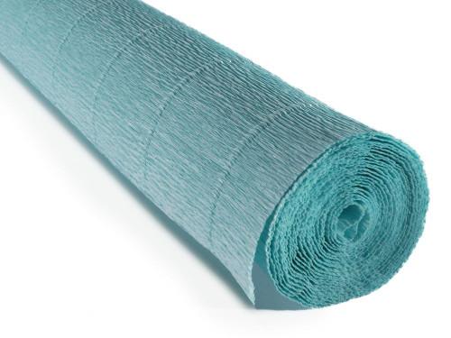 Crepe paper roll 180g (50 x 250cm) Italian Sky Blue (shade 20E3)