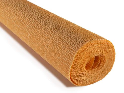 Crepe paper roll 180g (50 x 250cm) Yellow Beige Peach (shade 20E6)