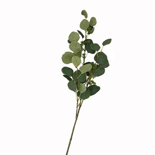 Round Leaf Artificial Eucalyptus Spray