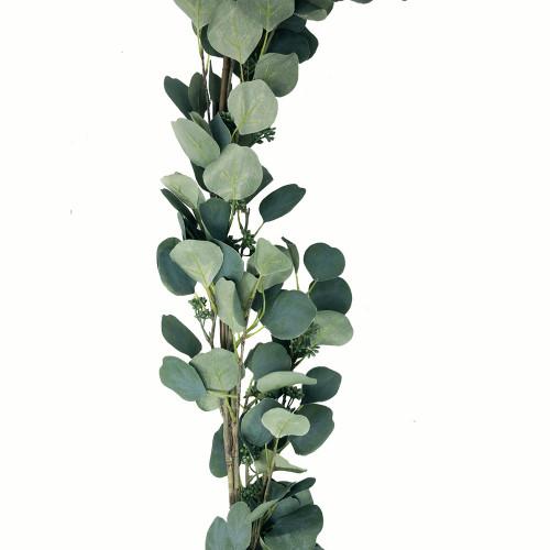 Round Leaf Artificial Eucalyptus Garland