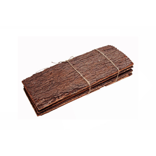 Pack of 5 x Natural Cork Tree Bark Sheets 35 x 15cm